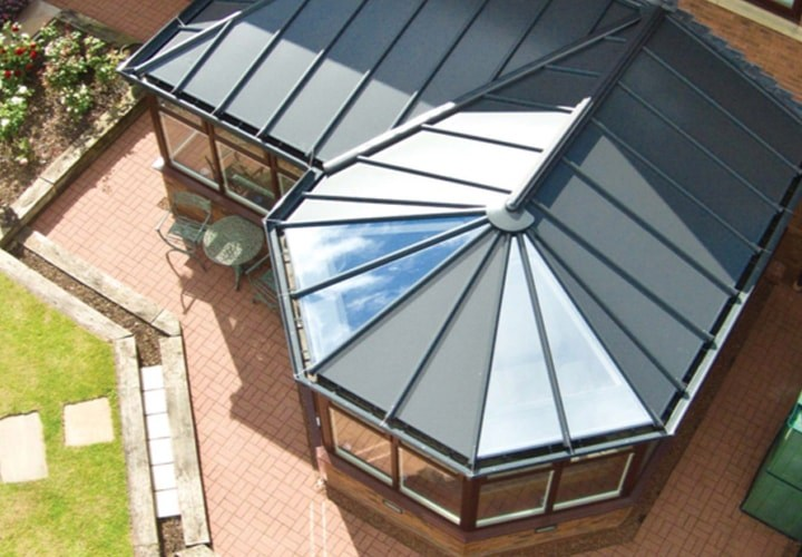 Double Glazing windows on a conservatory